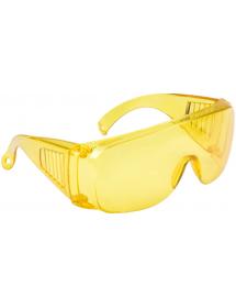 Очки защитные желтые с дужками