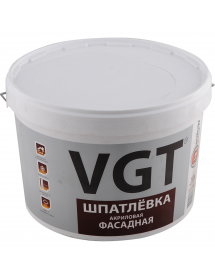 Шпаклевка фасадная VGT 18кг