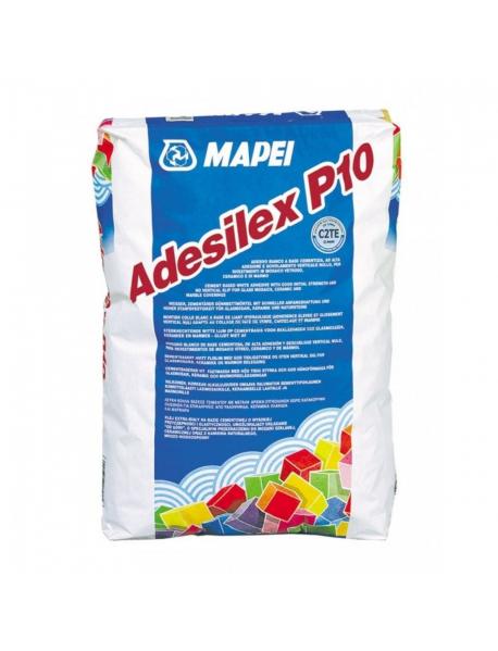 MAPEI ADESILEX P10 Белый улучшенный клей на цементной основе без оползания, 25кг