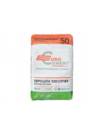Цемент Евро м500 (50кг) ( 39 меш/поддон)