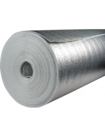 Утеплитель металлизированный 10мм 1.2м*15м (18 м.кв) Пенофол