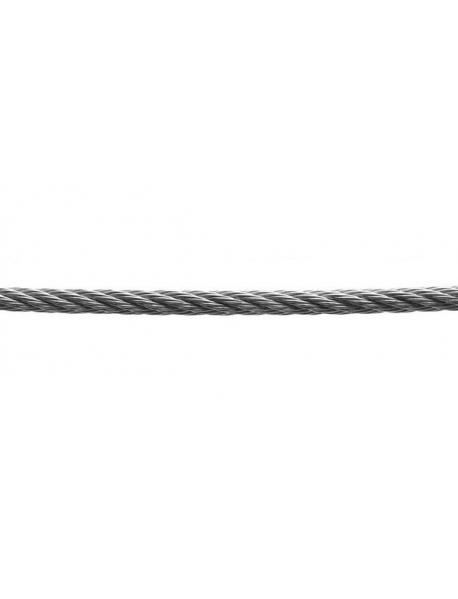 Трос стальной DIN 3060 (6х19) М10
