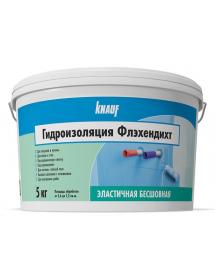 Гидроизоляция влагостойкая Кнауф (Knauf) Флэхендихт 5 кг