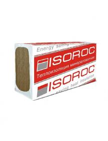 Минеральный утеплитель Изорок (Isoroc) Изолайт-Л  (40 кг/м3) 1000*600*50 мм (4,86м2, 0,24м3, 8пл/уп)