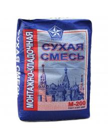 Монтажно-кладочная сухая смесь Русеан М200 40кг (49шт)