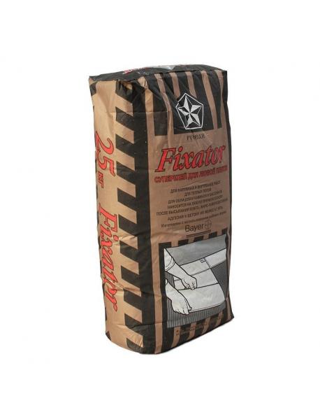 Клей для плитки Fixator Русеан, 25кг (40шт)