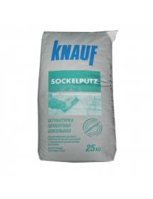 Штукатурка цементная цокольная Кнауф (Knauf) Зокельпутц, 25 кг