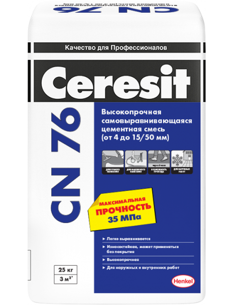 Церезит (Ceresit) CN 76, 25 кг
