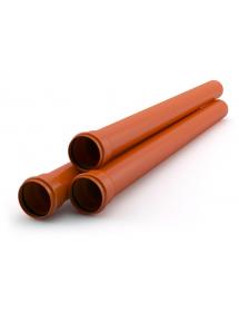 Труба ППК рыжая 110*2000