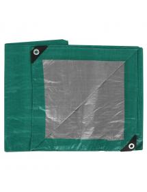 Тент Тарпаулин 120 гр, (2*3м) зеленый