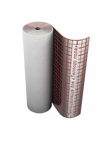 Подложка для теплого пола Теплопоглощающая шумоизоляционная алюминиевая SDM insulation 5*2 м