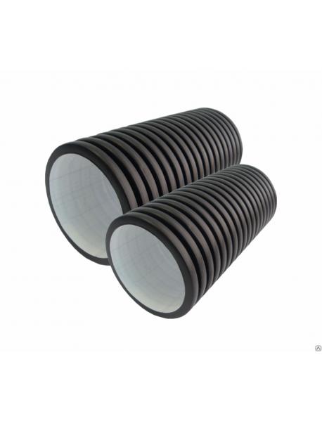 Труба ПНД гофрированная без раструба КОРСИС DN/OD 200/171*12000 SN8