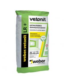 Шпаклевка Ветонит LR weber 20 кг (56м/под)