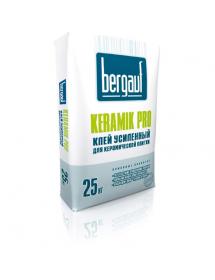 Клей для плитки усиленный Bergauf Keramik Pro, 25 кг