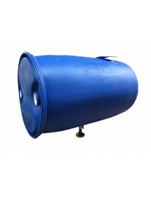 Бак для душа пластиковый с подогревом 220 л ( бочка ) водонагреватель.