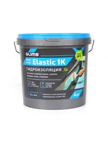 GLIMS®ВодоStop Elastic 1К гидроизоляция эластичная мастика, 4кг