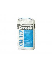 Клей эластичный для плитки Церезит СМ 117  25 кг.