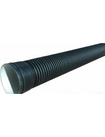 Труба ПНД гофрированная с раструбом SN8 200/171*6000