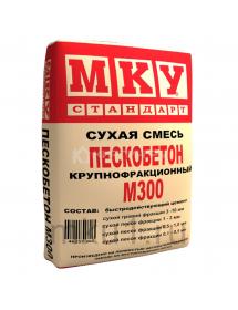 Смесь М300 пескобетон 40кг (35шт/под)
