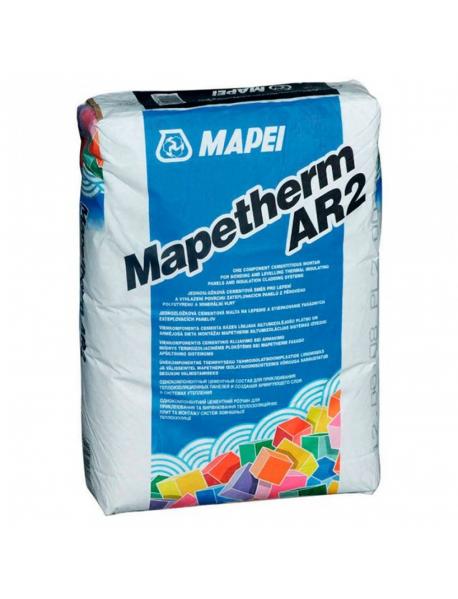 Цементный клей для теплоизоляции Mapei Mapetherm AR-2 25кг.