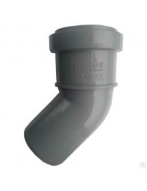 Отвод  серый 50*45