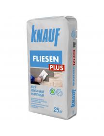 Клей плиточный усиленный Флизен плюс Кнауф  25кг (42м/под)