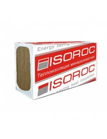 Минеральный утеплитель Изорок (Isoroc) Изолайт-Л (86 кг/м3) 1000*500*50 мм (4м2, 0,2м3, 8пл/уп)