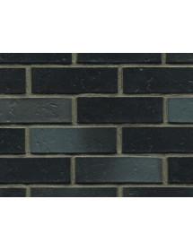 Клинкерный кирпич ABC-Klinkergruppe Dresden schwarz-blau-bunt schieferstruktur 240х115х71